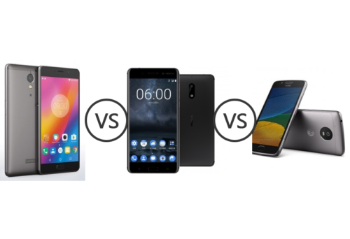 Nokia 6 vs Lenovo P2 vs Moto G5 Plus: A brutal mid-range mobile battle