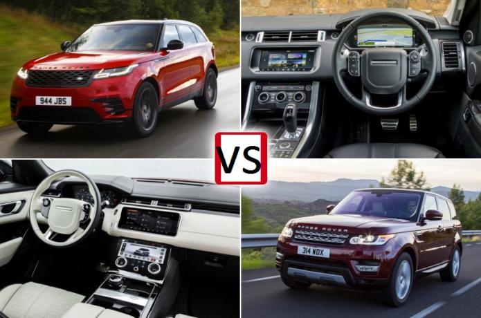 New Range Rover Velar (2017) vs Range Rover Sport