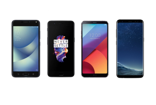 The Flagship Battle: ASUS ZenFone 4 Pro vs. OnePlus 5 vs. LG G6 vs. Samsung Galaxy S8