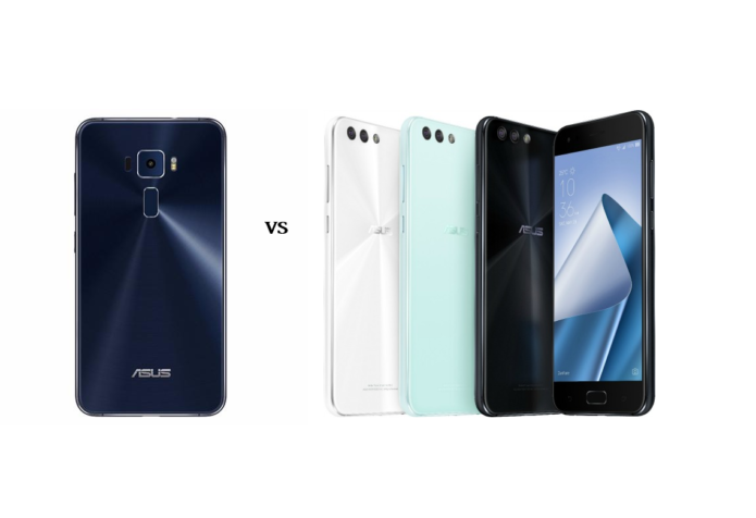 Head-to-Head: ASUS ZenFone 3 VS ASUS ZenFone 4