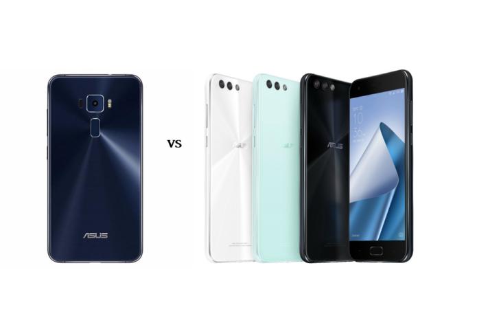 Head-to-Head: ASUS ZenFone 3 VS ASUS ZenFone 4
