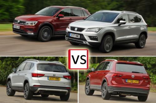 Seat Ateca vs Volkswagen Tiguan Comparison