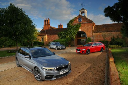 New BMW 5 Series Touring vs Mercedes E-Class Estate vs Volvo V90 Comparison