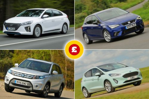 Best cars for less than £200/$260 per month