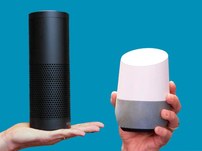 Image result for google home amazon echo