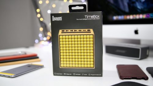 Divoom Timebox Review: You've Never Seen a Bluetooth Speaker Like This