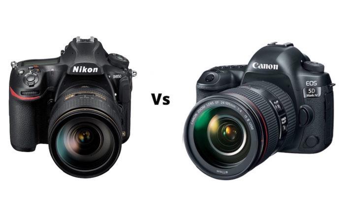 Nikon D850 vs Canon 5D Mark IV – Comparison