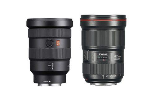 Sony FE 16-35mm f/2.8 GM vs Canon EF 16-35mm f/2.8L III Specs Comparison