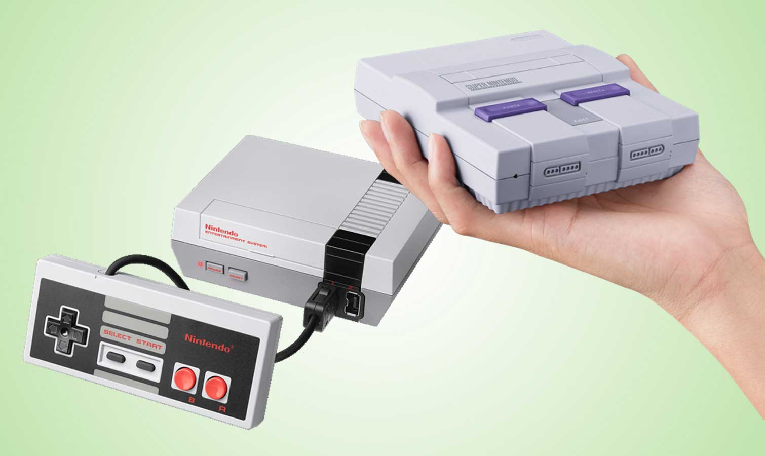 snes classic vs nes classic which retro console is for you gearopen. Black Bedroom Furniture Sets. Home Design Ideas