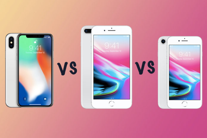 Apple iPhone X vs iPhone 8 Plus vs iPhone 8: What's the ...