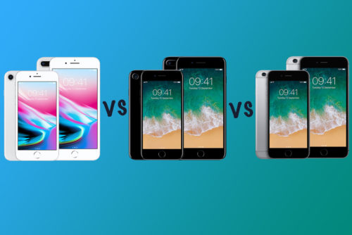 Apple iPhone 8 vs iPhone 7 vs iPhone 6S: What's the difference?