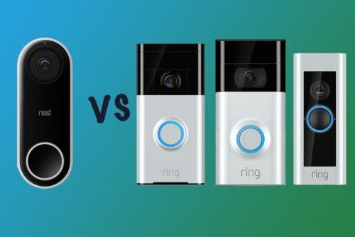 Nest Hello vs Ring Video Doorbell vs Doorbell 2 vs Doorbell Pro: What's the difference?