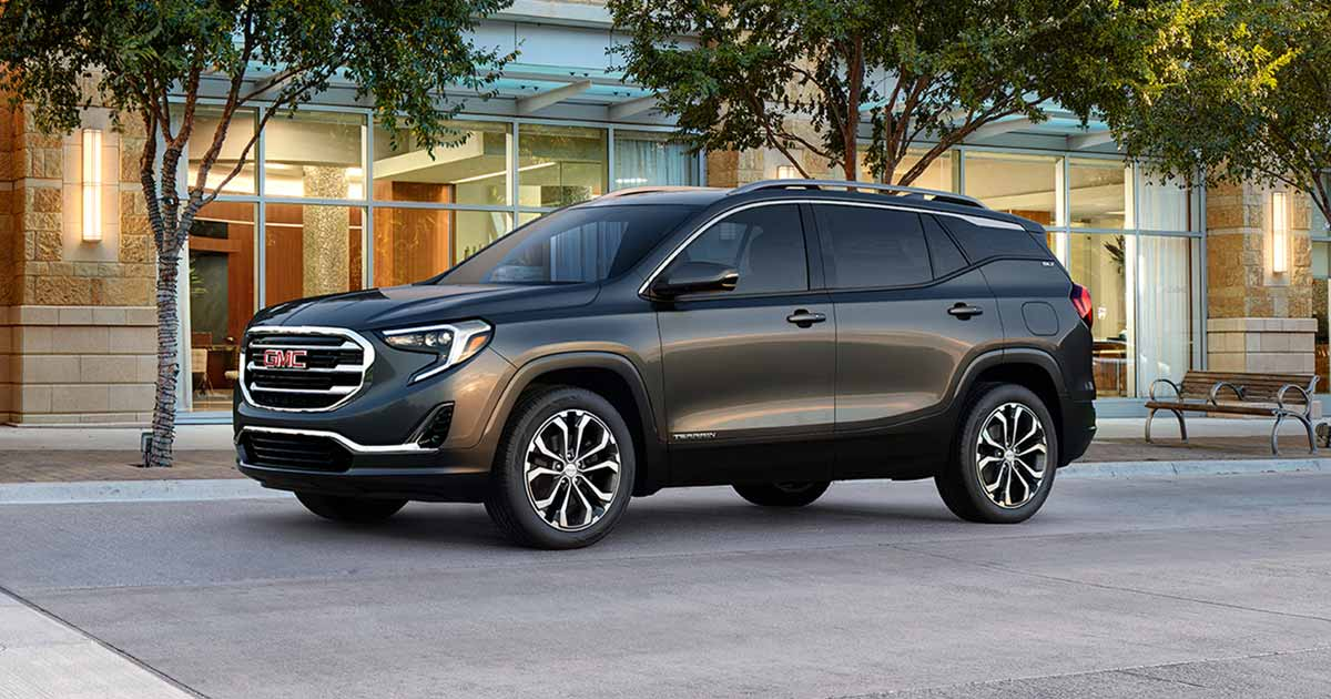 2018 GMC Terrain First Drive: Small SUV, Big Ambition ...