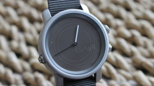 LunaR is a hybrid smartwatch that's powered by the sun