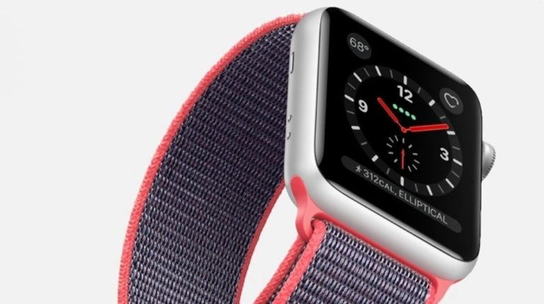 And finally: Apple Watch Series 3 is selling faster than expected