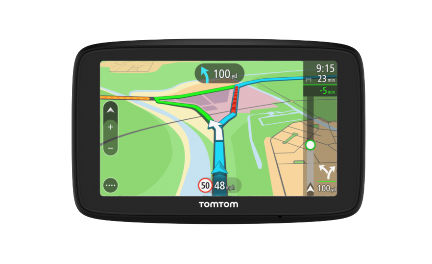 tomtom via 53 review gearopen. Black Bedroom Furniture Sets. Home Design Ideas