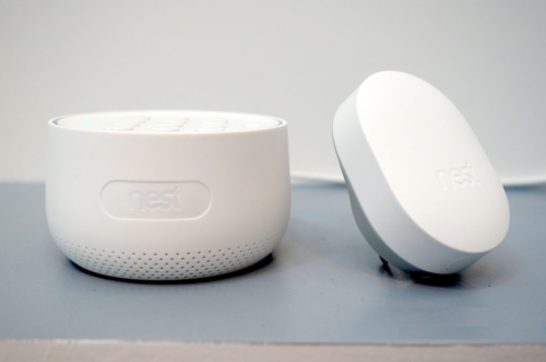 Nest Secure hands-on plus Nest Hello, Cam IQ Outdoor