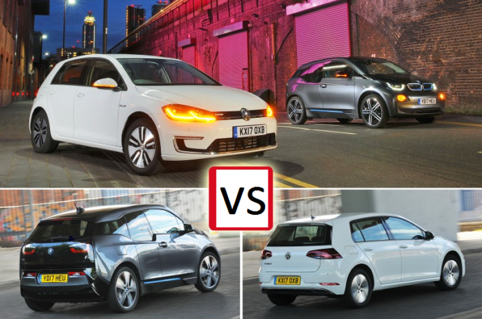 New Volkswagen e-Golf vs BMW i3 Comparison