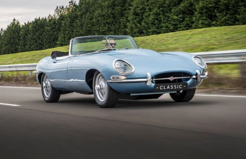 First Look: Jaguar E-Type relaunched as 'fully electric' sports car