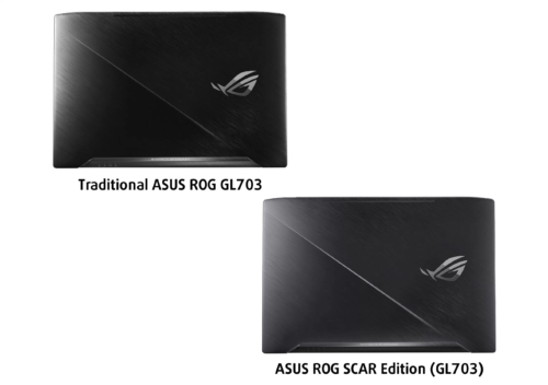 ASUS ROG GL703VD, GL703VM + SCAR Edition – what are the differences?