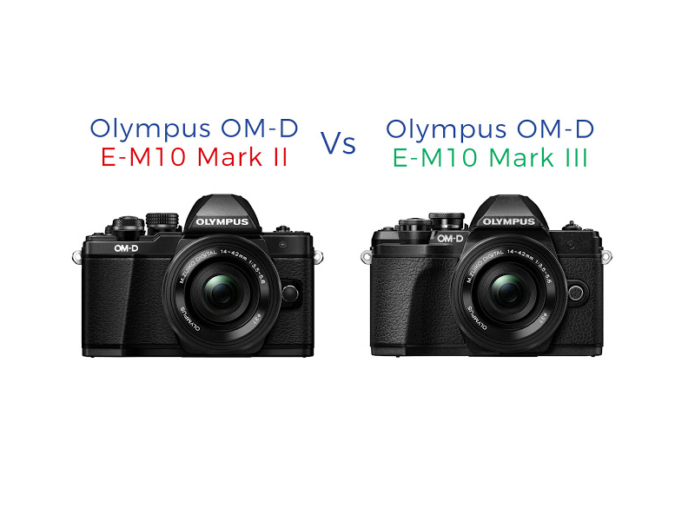 OLYMPUS OM-D E-M10 MARK III VS E-M10 MARK II REVIEW