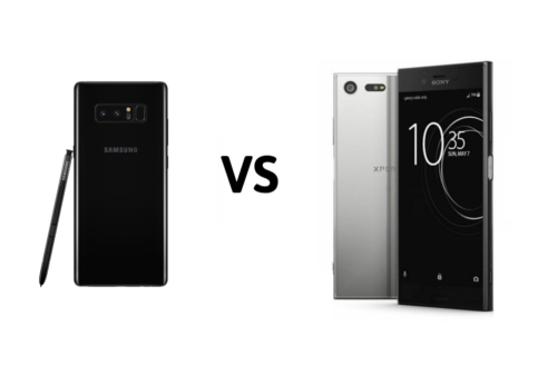 Samsung Galaxy Note8 vs Sony Xperia XZ Premium Camera Comparison