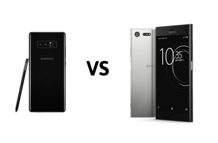 Samsung Galaxy Note8 vs Sony Xperia XZ Premium Camera Comparison