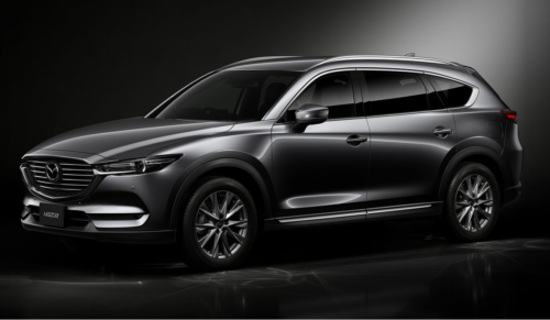 2018 Mazda CX-8 revealed in Japan
