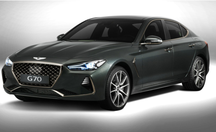 2018 Genesis G70 revealed : The world's newest luxury car has some big targets on its hit list