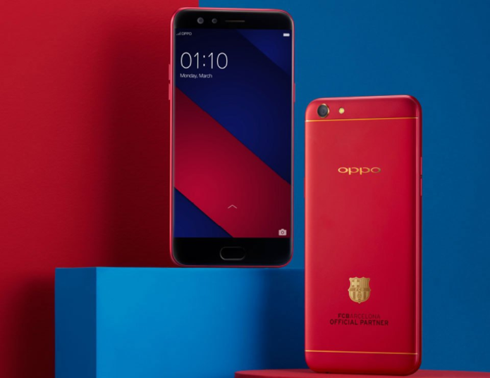 OPPO F3 FC Barcelona Limited Edition Unboxing, Hands-On Review: 18 Karat Gold, Baby!