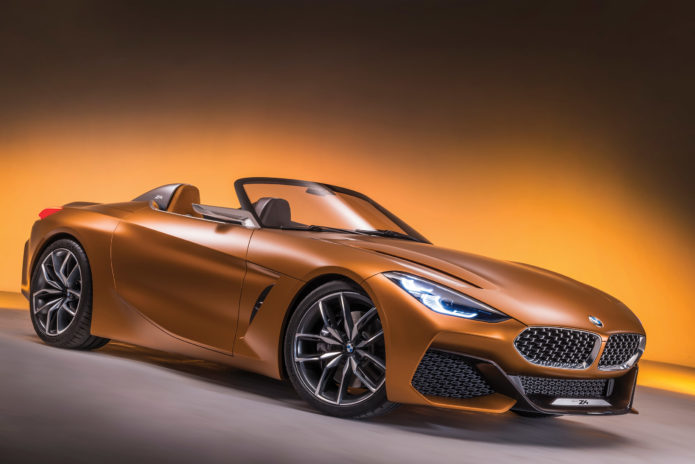 2018 BMW Z4 Concept design interview: deceptively simple lines