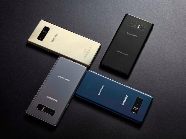 Samsung Galaxy Note8 vs HTC U11 Camera Comparison