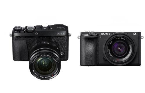 Fujifilm X-E3 vs Sony A6500 – Comparison