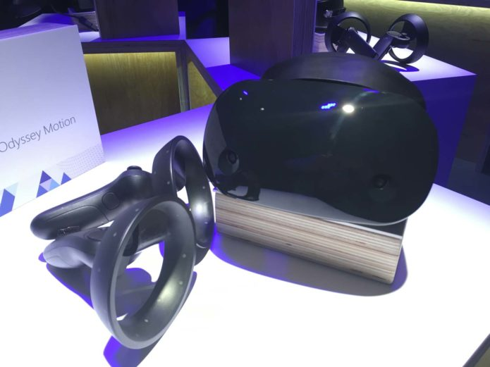Samsung's Mixed Reality Headset Hands-On Review: Premium Sight and Sound