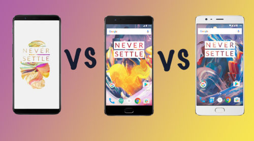 OnePlus 5T vs OnePlus 3T vs OnePlus 3: What's the rumoured difference?
