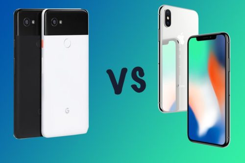 Google Pixel 2 XL vs Apple iPhone X: What's the difference?