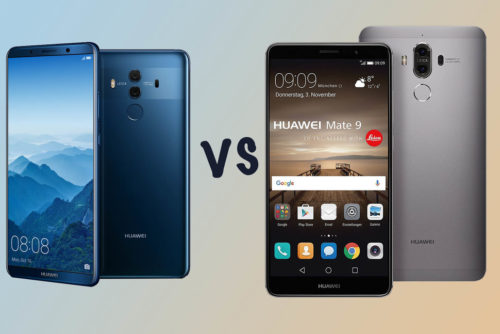 Huawei Mate 10 Pro vs Mate 9: What's the difference?
