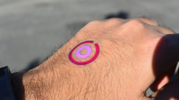 Hands on with LogicInk's temp tattoo : Can this sensor help you avoid dangerous UV rays?