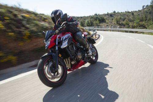 2018 Honda CB650F First Ride Review