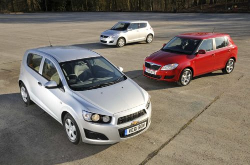 Used Skoda Fabia vs Suzuki Swift vs Chevrolet Aveo Comparison