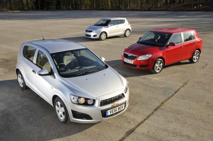Used Skoda Fabia vs Suzuki Swift vs Chevrolet Aveo Comparison
