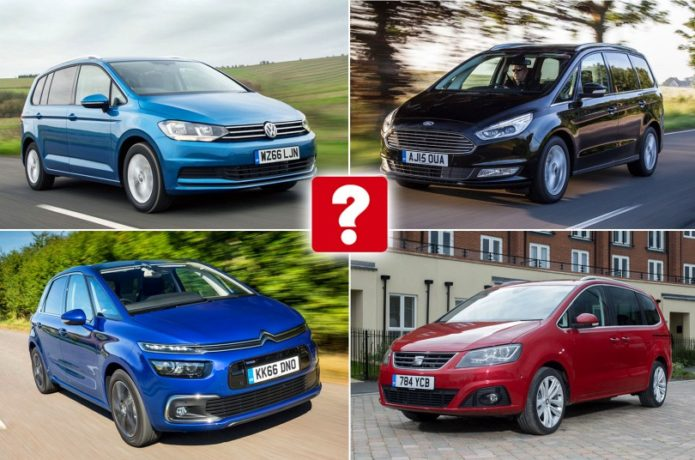 Best and worst MPVs and people carriers 2017