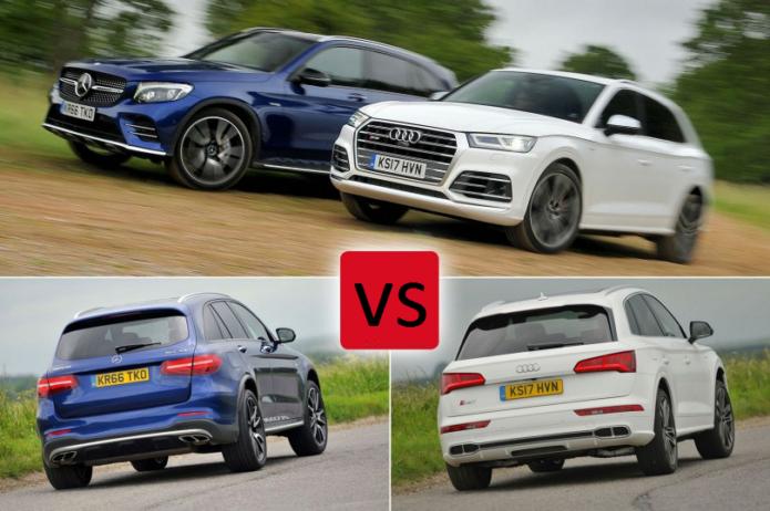 2017 Audi SQ5 vs Mercedes-AMG GLC 43 Comparison