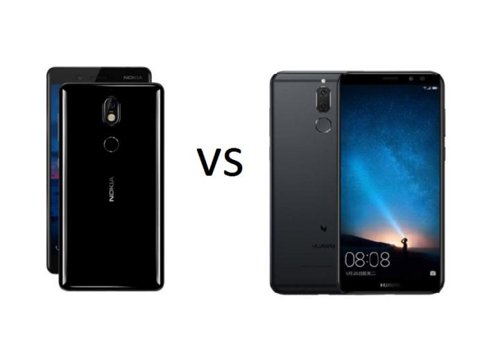 Nokia 7 vs Huawei Nova 2i Specs Comparison