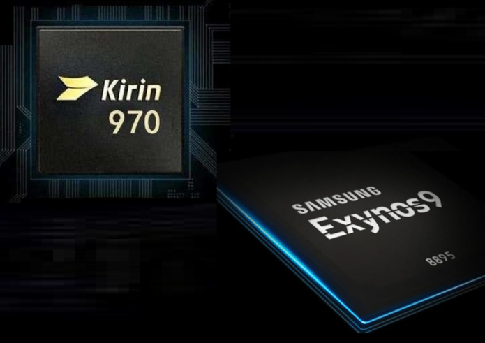 HiSilicon Kirin 970 vs Samsung Exynos 8895 Comparison