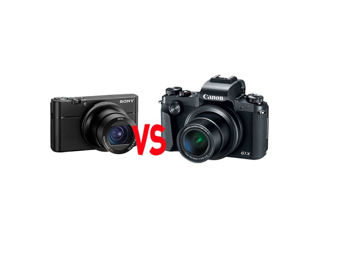 Canon G1 X Mark III vs Sony RX100 V - COMPACT CAMERA COMPARISON