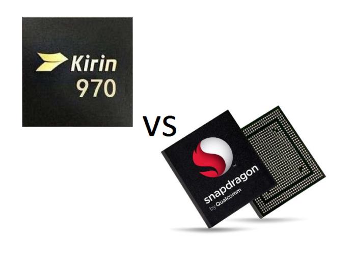 HiSilicon Kirin 970 vs Qualcomm Snapdragon 835 Comparison