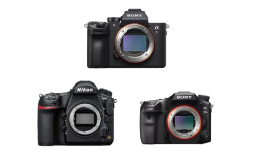 Sony A7R III vs Nikon D850 vs Sony A99 II – Comparison
