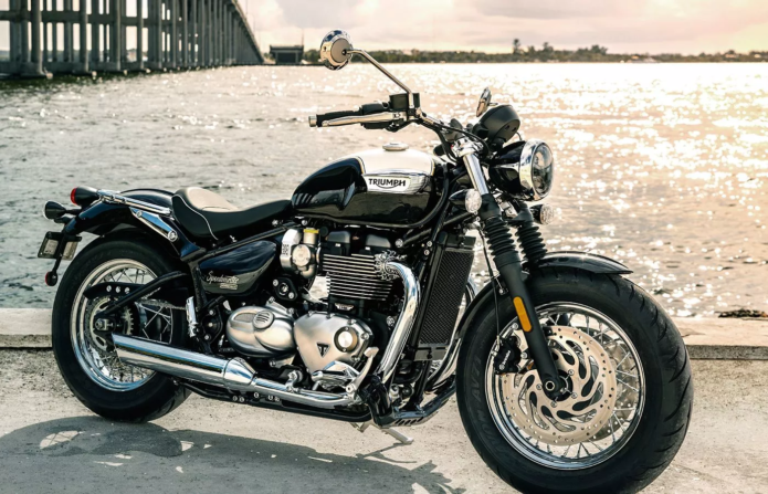 2018 Triumph Bonneville Speedmaster Revealed : A more practical take on the Bonneville Bobber