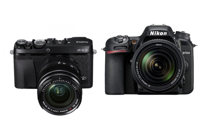 Fujifilm X-E3 vs Nikon D7500 – Comparison